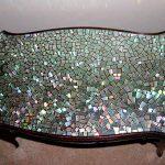Фото 26: Украшение стола из дисков