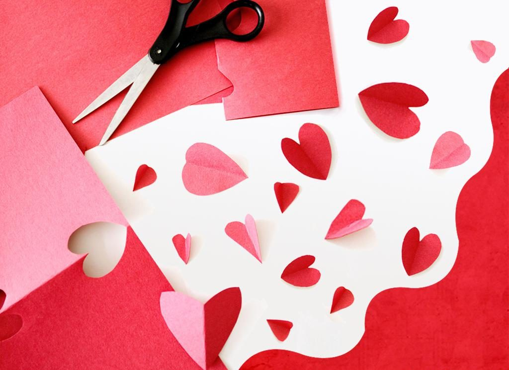 отличаются точным картинки поделки из бумаги сердца будем шить