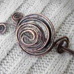 Фото 30: Заколка спиральная из проволоки