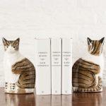 Фото 115: подставки для книг в виде кошек