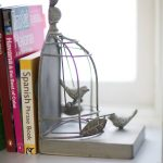Фото 169: Книгодержатель винтажный птицы в клетке