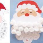 Фото 23: Новогодний адвент календарь борода Санты