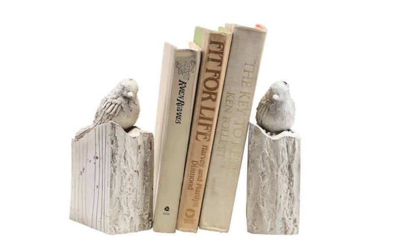 Книгодержатели в виде птиц