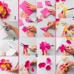 Фото 22: Изготовление открытки с объемным цветком