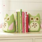 Фото 146: Мягкие книгодержатели для книг - совушки