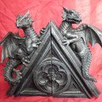 Фото 147: Книгодержатель - статуэтка драконы