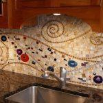 Фото 24: Рисунок иозаики из различных форм