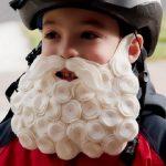 Фото 27: Борода из ватных дисков
