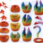 Фото 9: Изготовление лебедя-вазы оригами
