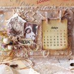 Фото 27: Календарь - открытка