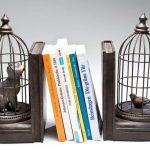 """Фото 116: Держатели для книг """"кошка в клетке"""""""