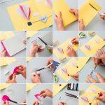 Фото 29: Изготовление открытки с воздушными шарами