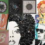 Фото 32: Картины в стиле поп-арт с пуговицами