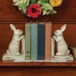 Фото 161: Книгодержатели в виде кроликов