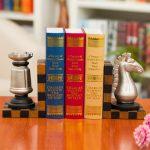 Фото 165: Книгодержатели шахматные фигуры