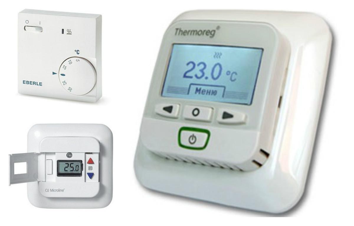 Существует теплорегулятор теплого пола, который показывает величину нагрева