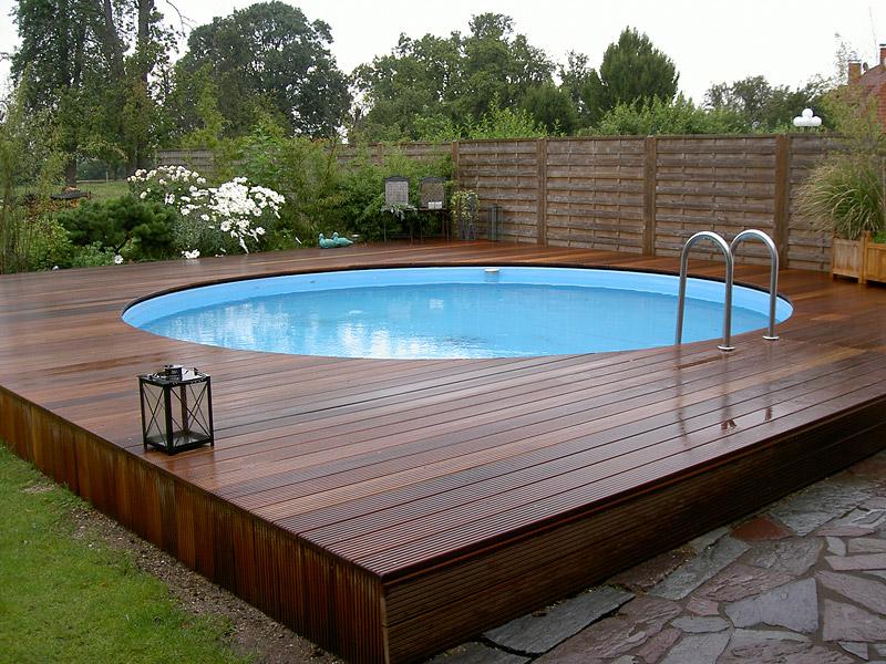 Дизайн дачного бассейна