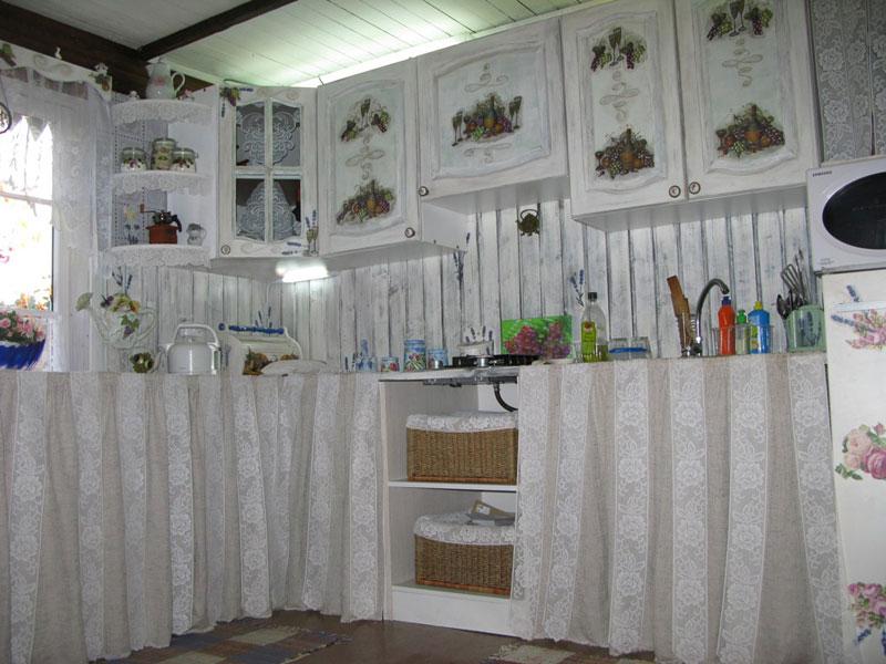 Фото обновленной кухни