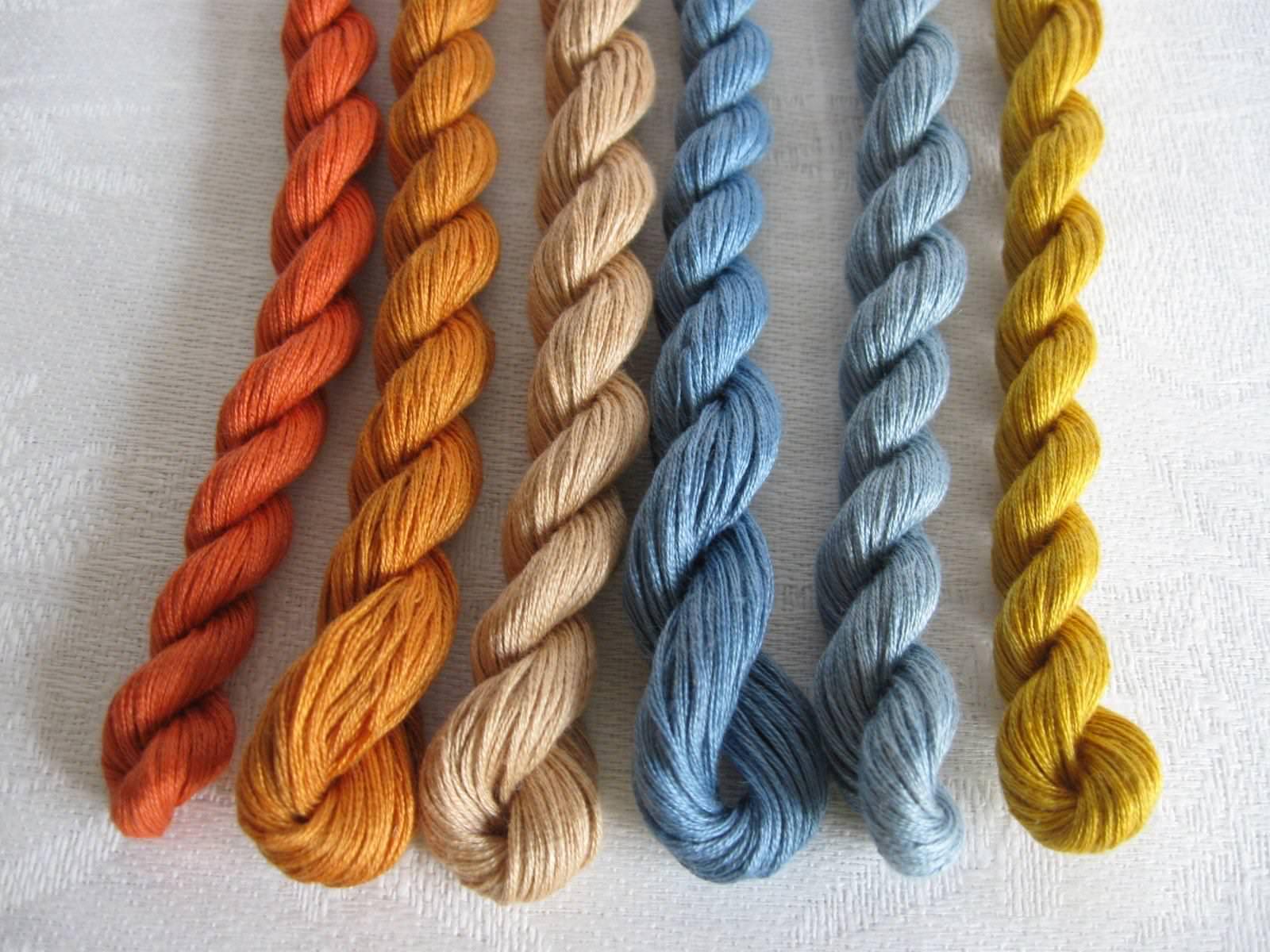 Изготовление ковра из ниток