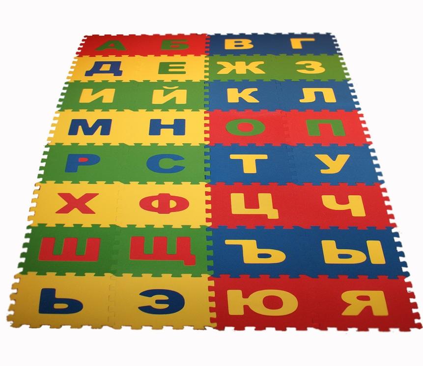 Коврик-пазл русский алфавит
