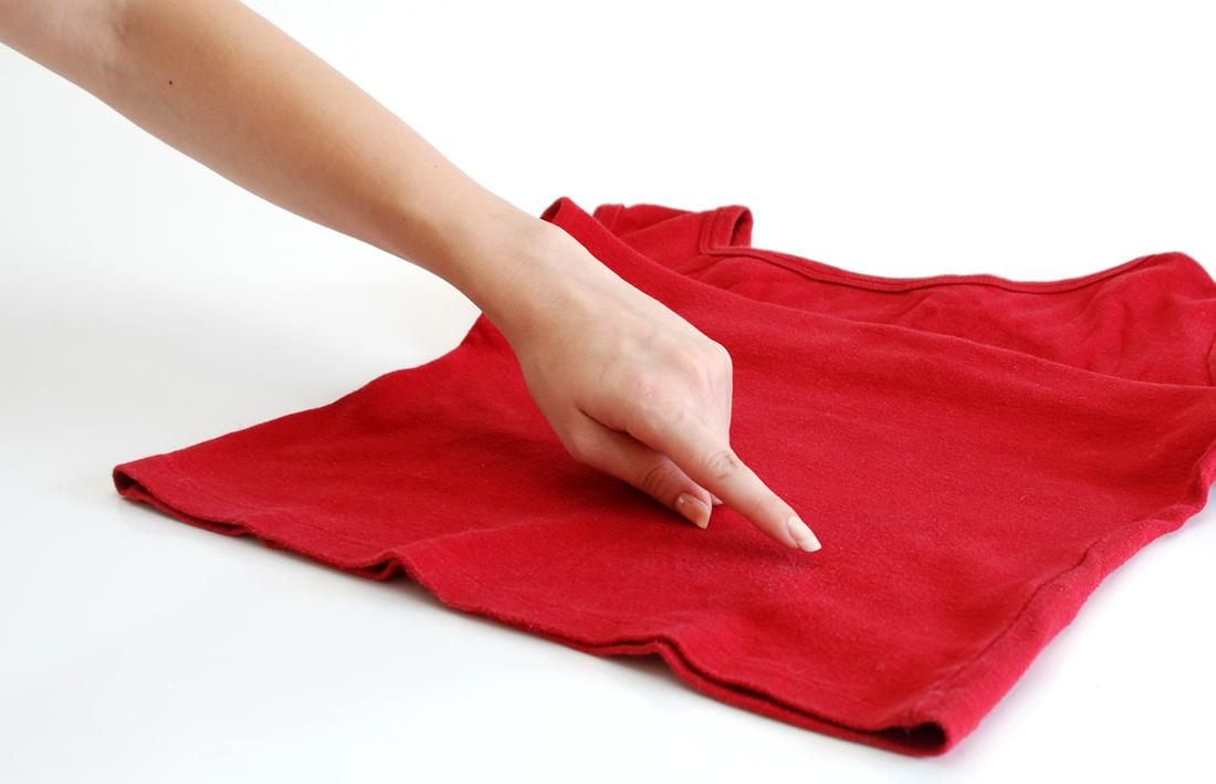 Пятно на одежде