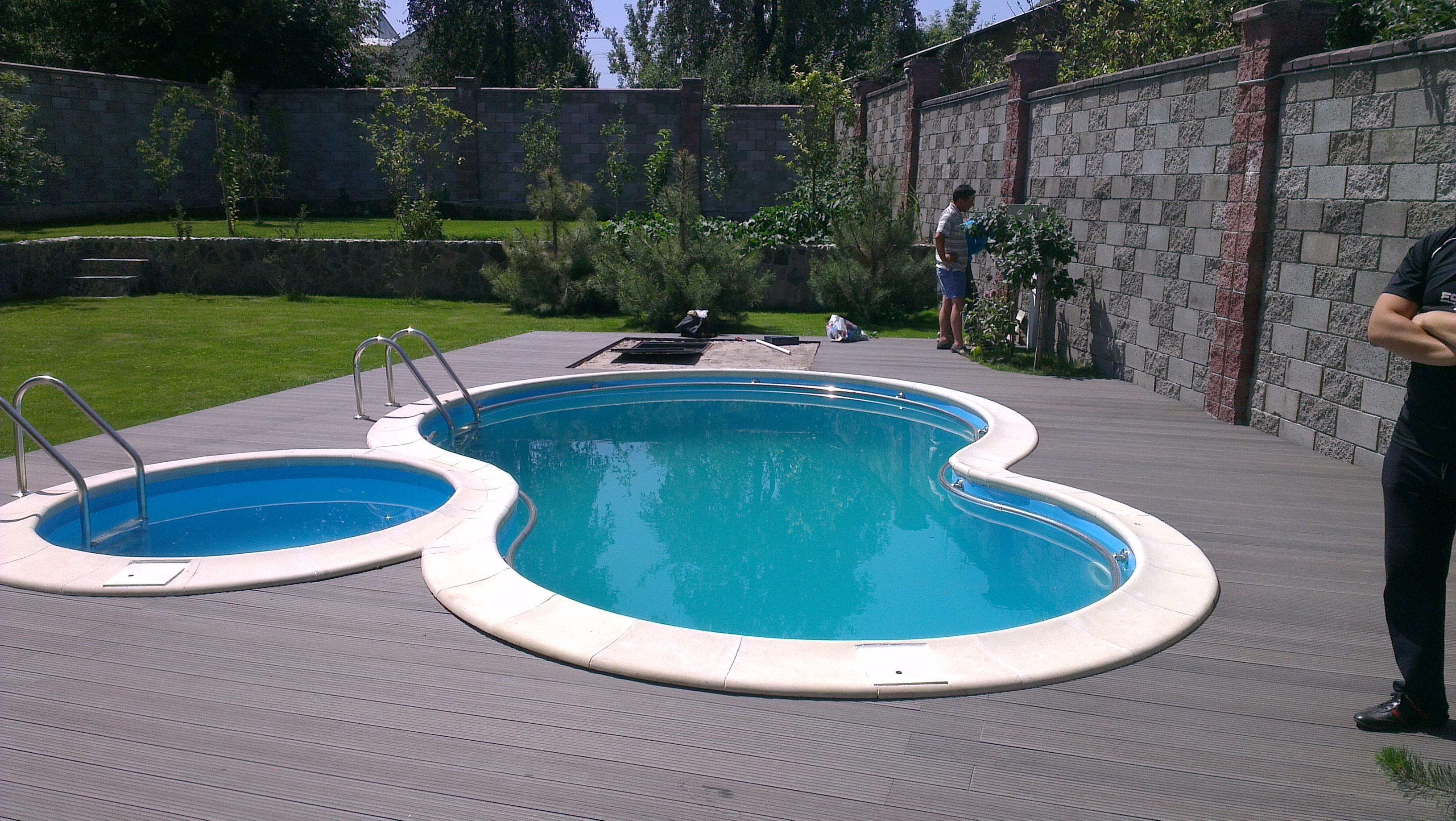 Выбор места для бассейна