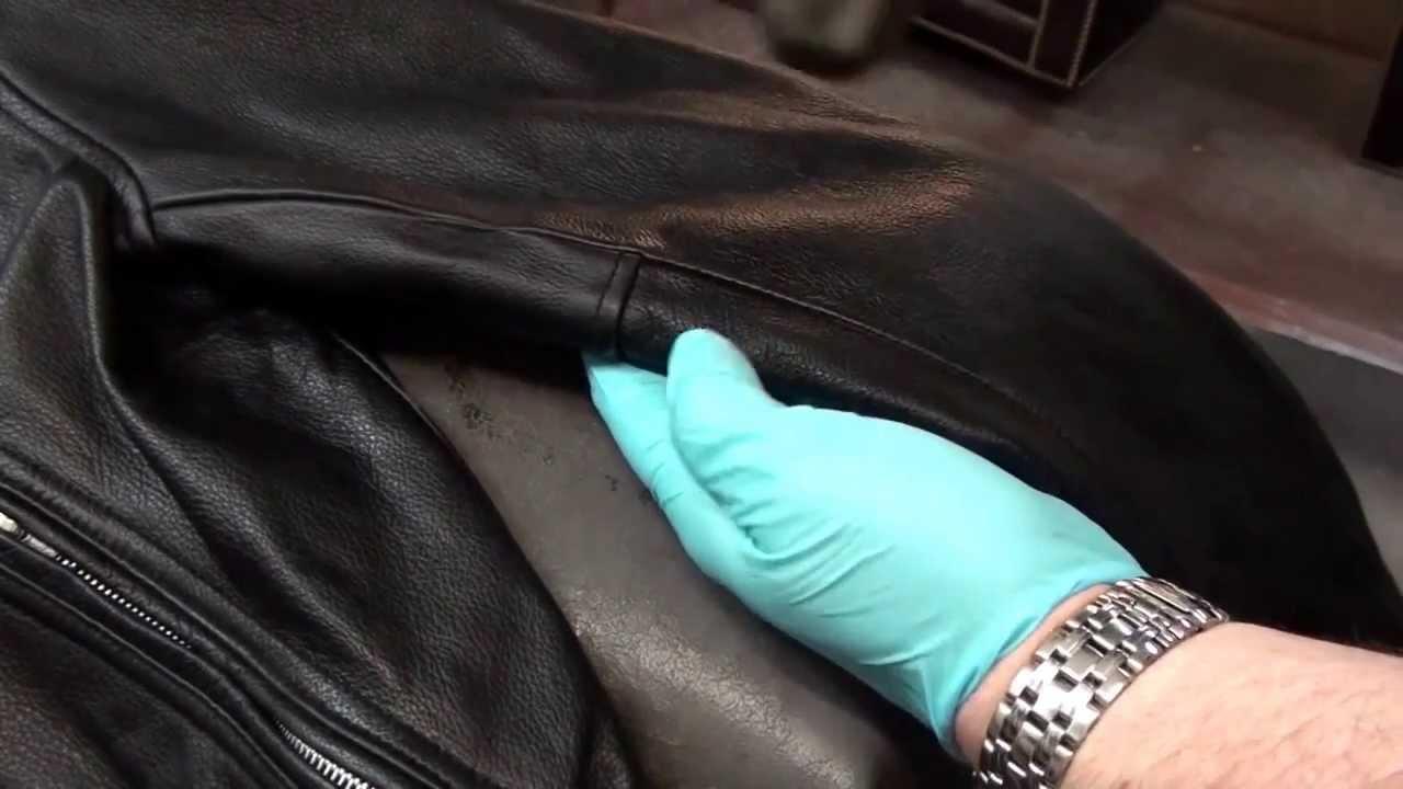 Работники химчисток знают как ухаживать за кожаной курткой и вернуть ей первоначальный вид
