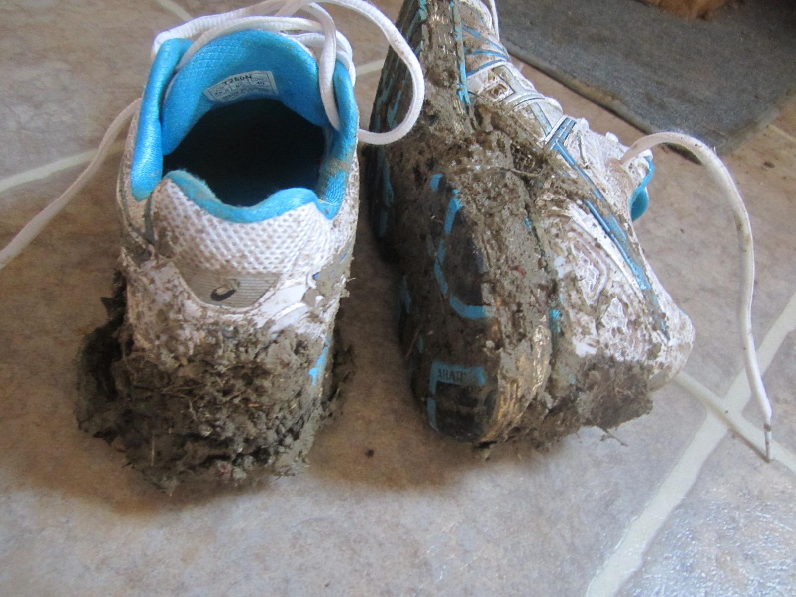 Перед началом стирки нужно будет хорошо почистить кроссовки от загрязнений на их внешней стороне