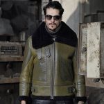 Фото 30: Цветная кожаная куртка на меху