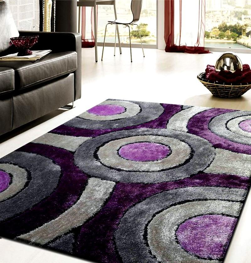 ковры сиреневые фото