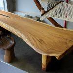 Фото 21: Интересный стол из массива дерева