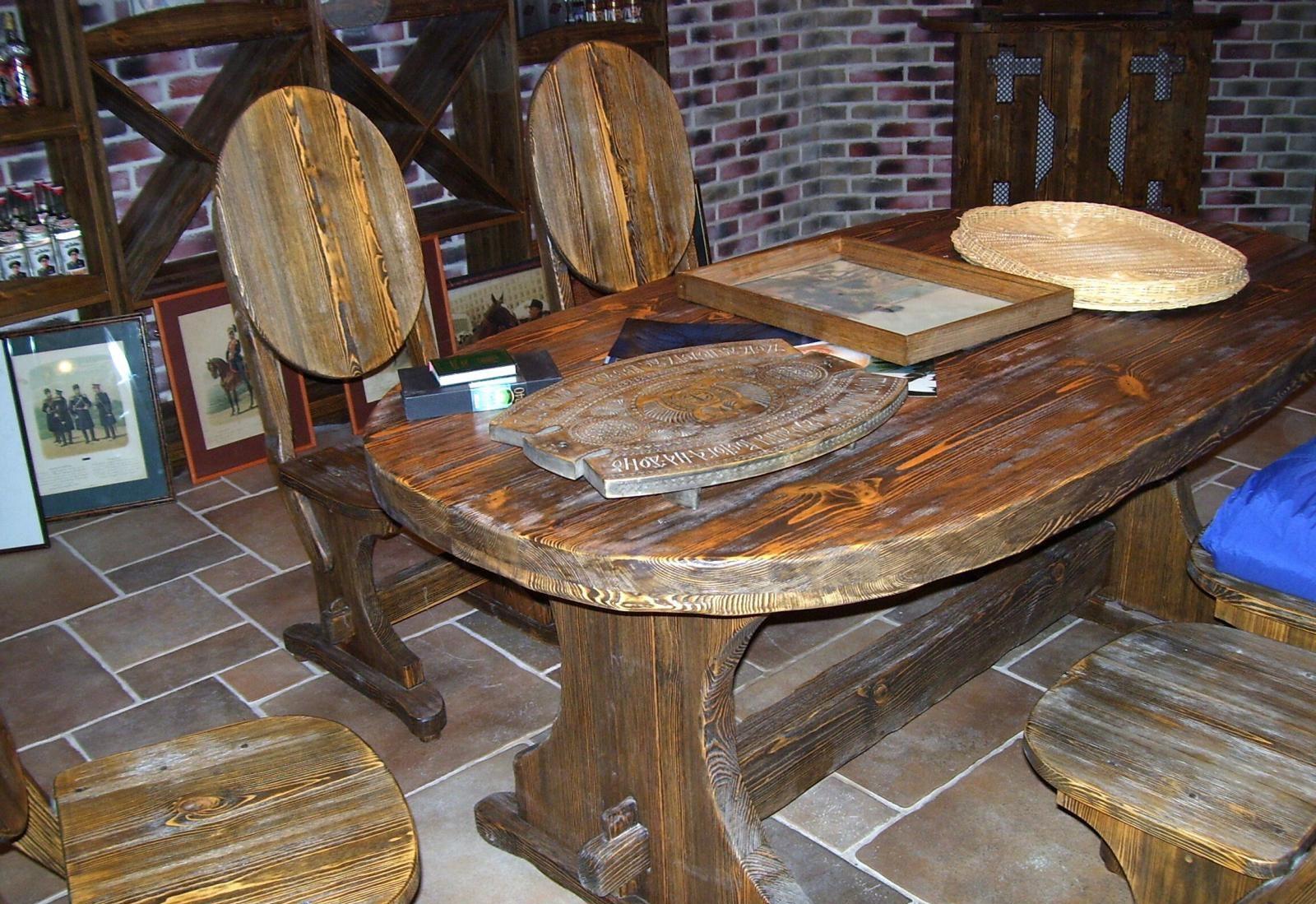 Браширование стола