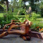 Фото 25: Кресло из коряги