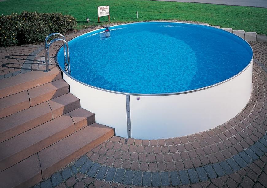Внесезонные каркасные бассейны могут быть использованы по назначению круглогодично