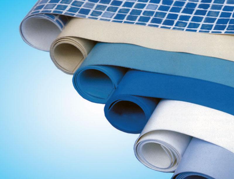 Ткань ПВХ способна удерживать воду, не подвержена растягиванию и очень прочна