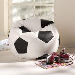 Фото 37: Бескаркасное кресло в виде мяча