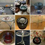 Фото 32: Мебель из шин