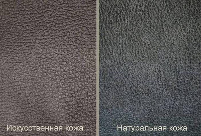 Натуральная и искусственная кожа