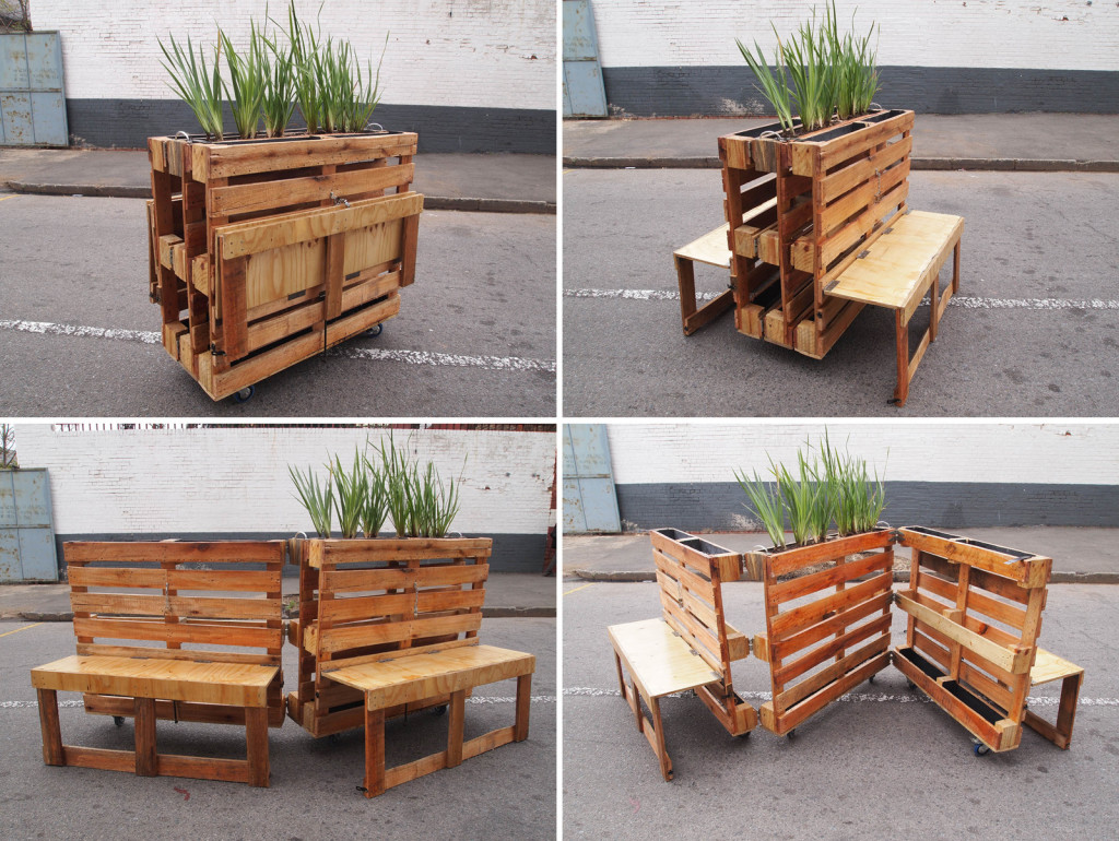 Оригинальная мебель из паллет