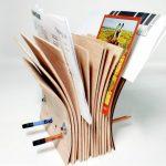 Фото 34: Подставка для газет из остатков фанеры