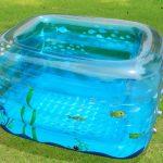 Фото 19: Прозрачный надувной бассейн