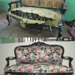 Фото 23: Реставрация дивана