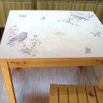 Фото 26: Роспись стола из фанеры