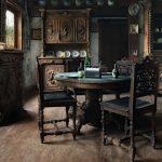 Фото 25: Интерьер с реставрированной стариной мебелью