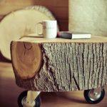 Фото 39: Столик из спила дерева