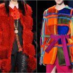 Фото 29: Цветной мех в моде