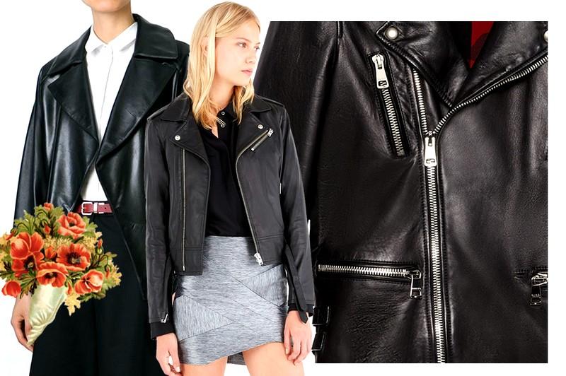 Выбор кожаной куртки