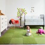 Фото 40: Коврик для малышек зеленый