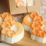Фото 69: Оранжевый набор мыла на 8 марта
