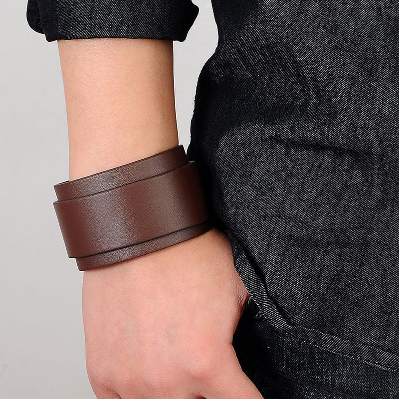 Подарить кожаный браслет для мужчины своими руками